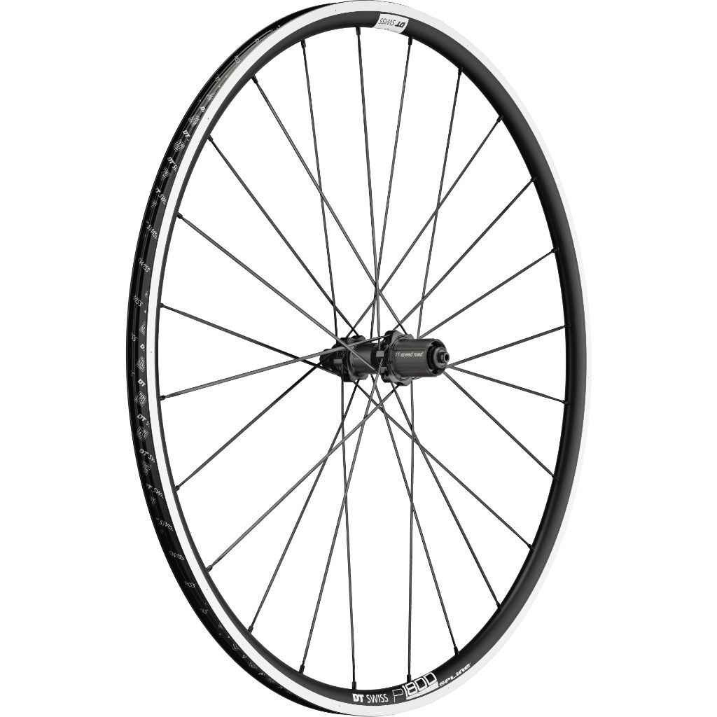 DT Swiss P 1800 SPLINE 23 mm Clincher QR Rear Wheel