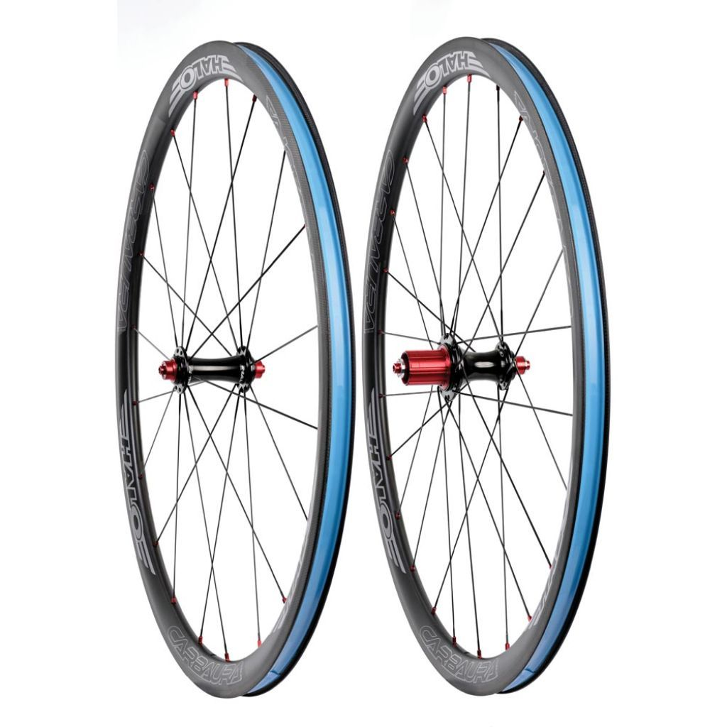 Halo Carbaura RC 35mm Aero Carbon Road Wheelset - Rim Brake